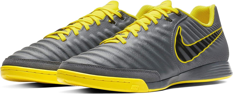 Nike herren Nike Legendx 7 Academy (Ic) I - dark grau schwarz-opti Gelb, Gre 7