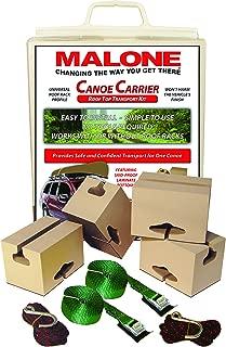 Malone Standard Foam Block Universal Car Top Canoe Carrier Kit