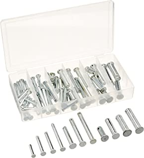 """Neiko 50414A Clevis Pin Assortment, 60 Piece Set 