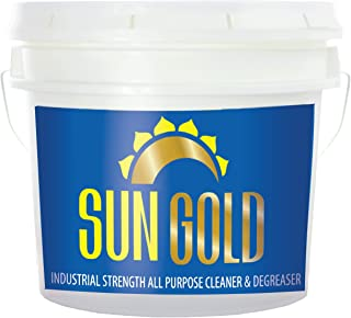 All Purpose Cleaner Super Concentrated 3.5 Gallon Bucket [A-1 Rated by NSF, USDA Certified] Safe Non-Toxic Biodegradable - Industrial Strength by Sun Gold Manufacturing™