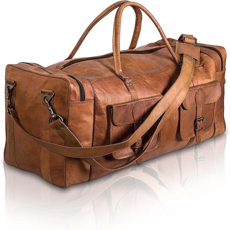 Bolsa de Viaje en Cuero Komal s Passion Leather