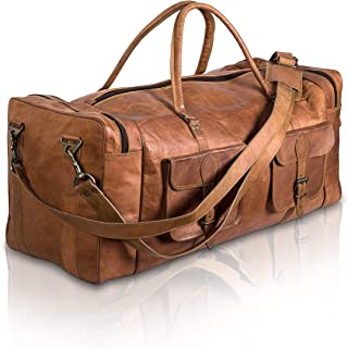 Best mens leather duffle bags sale Reviews