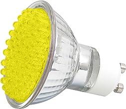 LEDGalaxy LED-Strahler mit 60 LEDs, GU10, Gelb