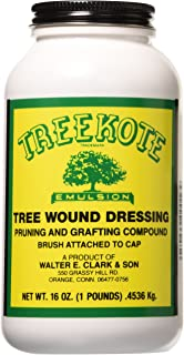 Clarks 00016 Treekote Brushtop Container, 16-Ounce