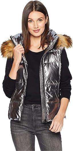 Metallic Snowcat Vest