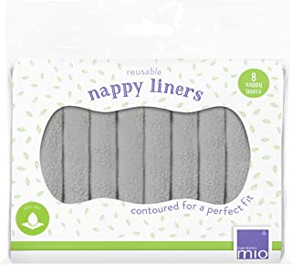 Bambino Mio Reusable Nappy Liners, 8 Pack