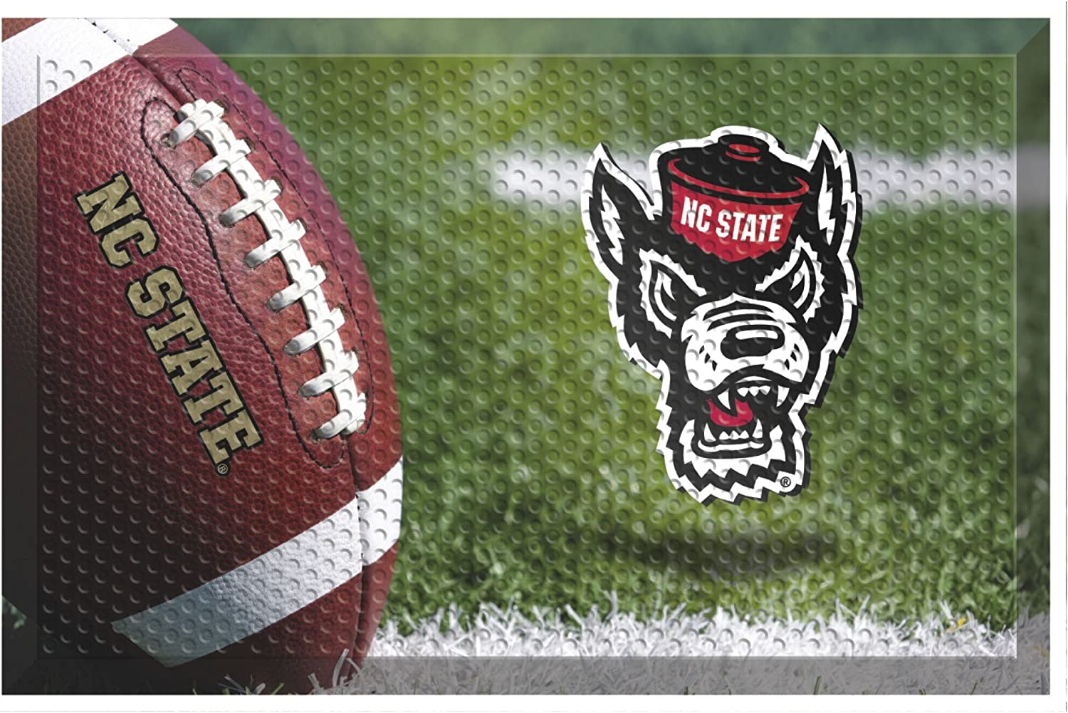 Popular product FANMATS NCAA North Carolina State Team Mats Fees free Co Wolfpack Scraper