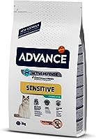 Advance Somonlu Kısırlaştırılmış Kedi Maması, 3 Kg
