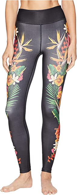 Surf Floral Leggings