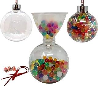 Baby Mushroom DIY Christmas Ornament Kit - Christmas Craft with LED Lights | Beaded Ornaments|Decorating Ornaments