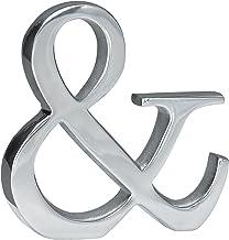 KINDWER Aluminum Symbol, 6-Inch, Monogrammed Symbol Ampersand
