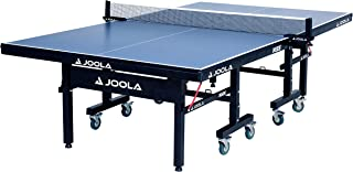 JOOLA Inside - میز تنیس روی میز MDF حرفه ای با گیره سریع پینگ پنگ خالص و مجموعه ارسال - 10 دقیقه مونتاژ آسان - USATT تأیید شده - جدول پینگ پنگ با حالت پخش تک نفره
