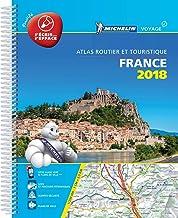 Francia. Atlante 20700 plastificato 2018 (Michelin Road Atlases)