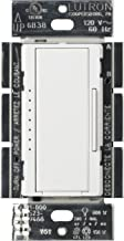 Lutron Maestro C.L Dimmer Switch for Dimmable LED, Halogen & Incandescent Bulbs, Single-Pole or Multi-Location, MACL-153M-WH, White (Renewed)