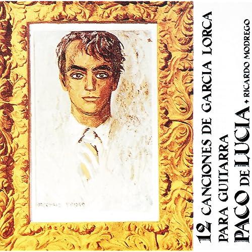 12 Canciones De Garcia Lorca Para Guitarra de Ricardo Modrego ...