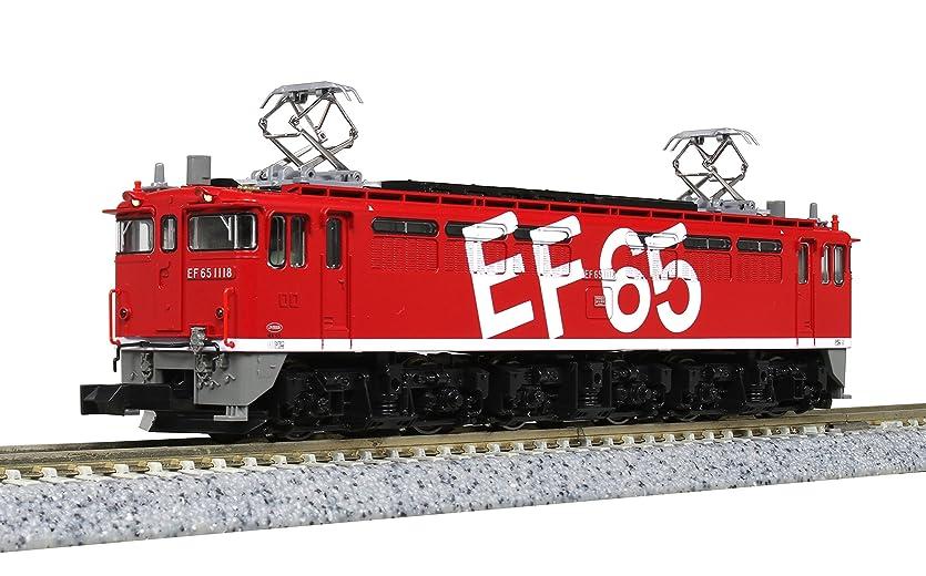 前任者時間KATO Nゲージ EF65 1118 レインボー塗装機 3061-3 鉄道模型 電気機関車