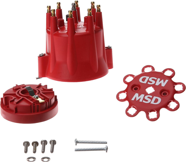 Los Angeles Mall MSD Ignition 84335 5 popular Standard Cap Rotor Kit