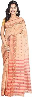 Raj Sarees Women's Cotton Saree With Blouse Piece