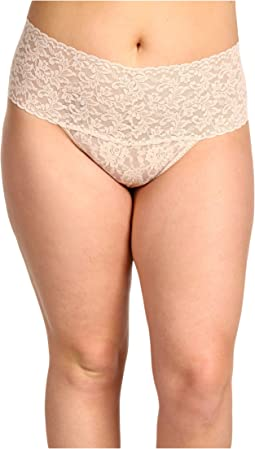 Hanky Panky Plus Size Signature Lace Retro Thong