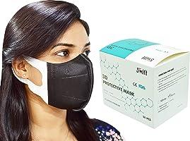 SWIFT 3D Mask for Adults 50 pcs (black)