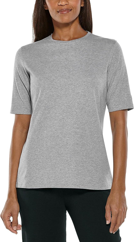 Coolibar UPF 50+ Women's Morada Everyday Short Sleeve T-Shirt - Sun Protective