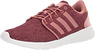 adidas Womens Cloudfoam Qt Racer Running Shoe Pink Size: 6