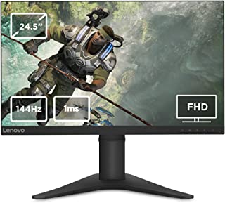 Lenovo 65FEGAC2UK G25-10(C19245FY0) 24.5 inches LED Gaming Monitor With Stand, Raven Black