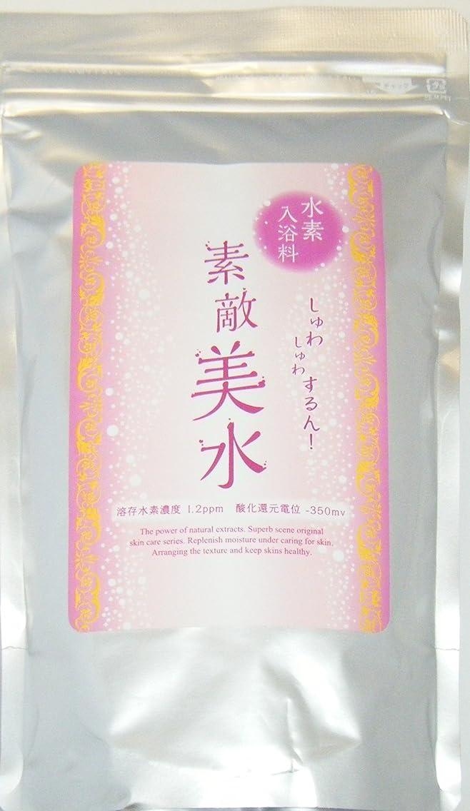 意見人種蒸気素敵美水 水素入浴剤(1㎏)