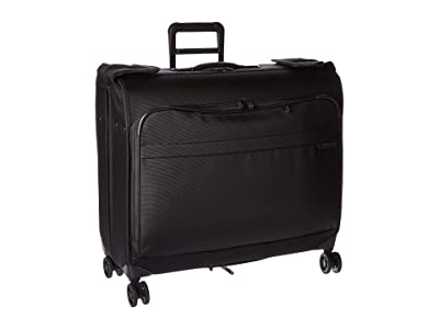 Briggs & Riley Baseline Wardrobe Spinner (Black) Suiter Luggage