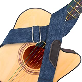 Wolven Guitar Adjustable Strap for Electric Guitar/Acoustic Guitar/Bass Etc