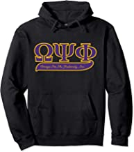 Best omega psi phi hoodie Reviews