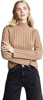 Women's Wide Rib Turtleneck Sweater