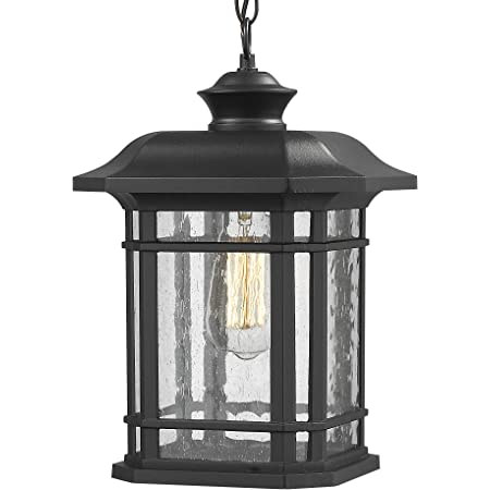 Acclaim 5036bk Wexford Collection 3 Light Outdoor Light Fixture Hanging Lantern Matte Black Pendant Porch Lights