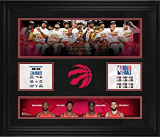 Toronto Raptors 2019 NBA Finals Champions Framed 23
