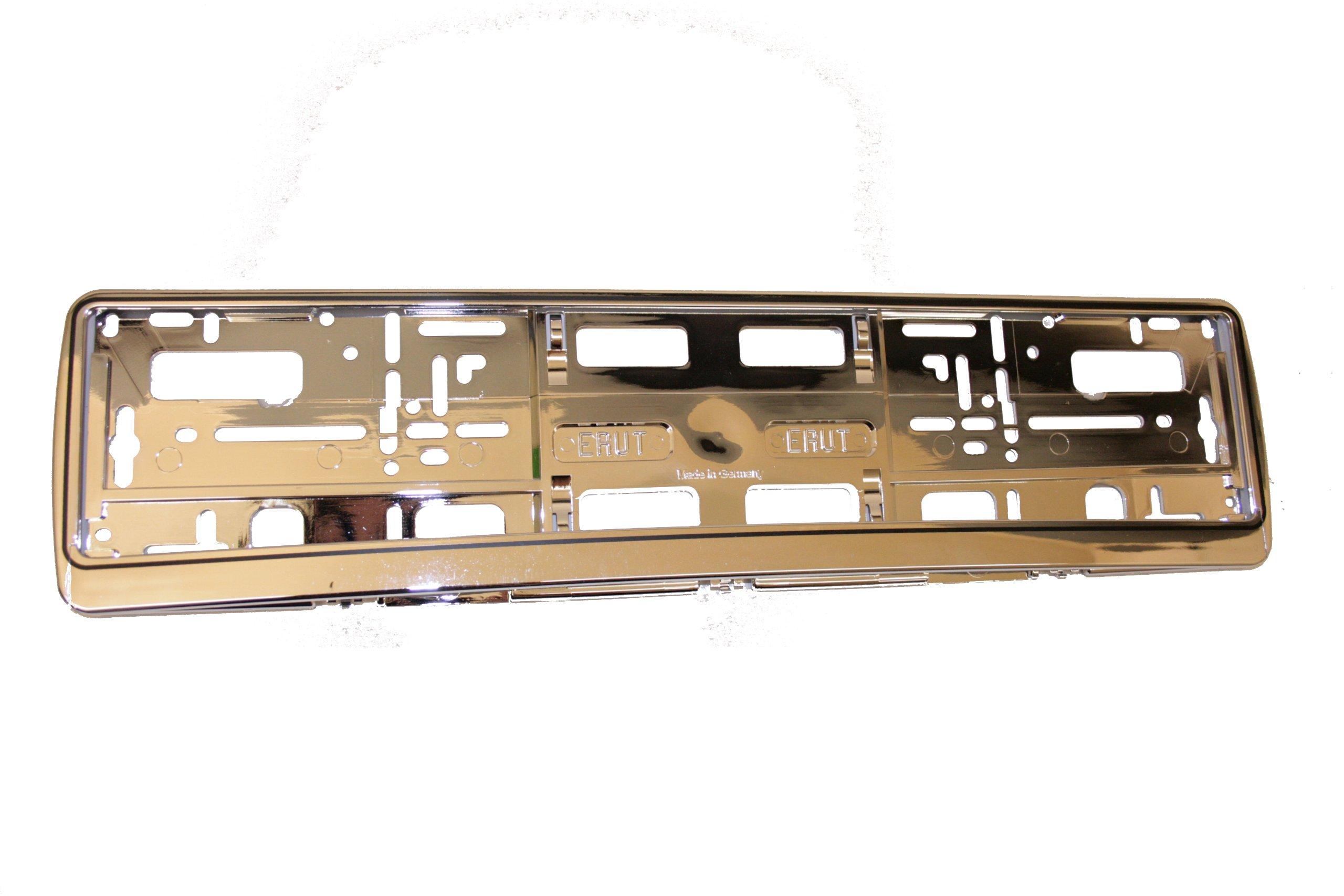 Alpin 65673 Premium - Marco para matrícula, cromado: Amazon.es ...