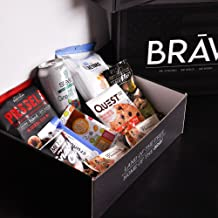 BRĀV BOX - Premium Healthy Snack Subscription Box - Giving back to Veterans/Military