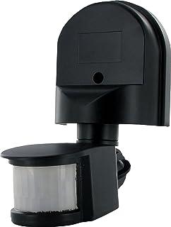 Smartwares ES90 Bewegingssensor – 180° detectie – Instelbare functies, zwart, 9.4 x 22 x 12.9 cm