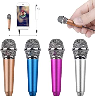 Uniwit Mini Portable Vocal/Instrument Microphone For Mobile phone laptop Notebook Apple iPhone Sumsung Android With Holder...