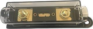 KOLACEN ANL guldpläterad säkring + ANL säkringshållare svart 1 pack 300A