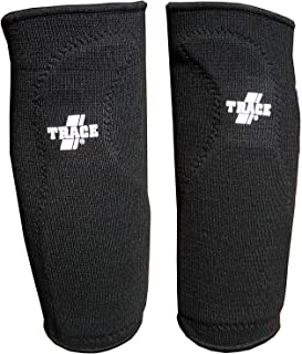 Adams Trace Elastic Compression Sliding Knee Support Sleeves with Pad, Left and Right, 2 Guard Bundle