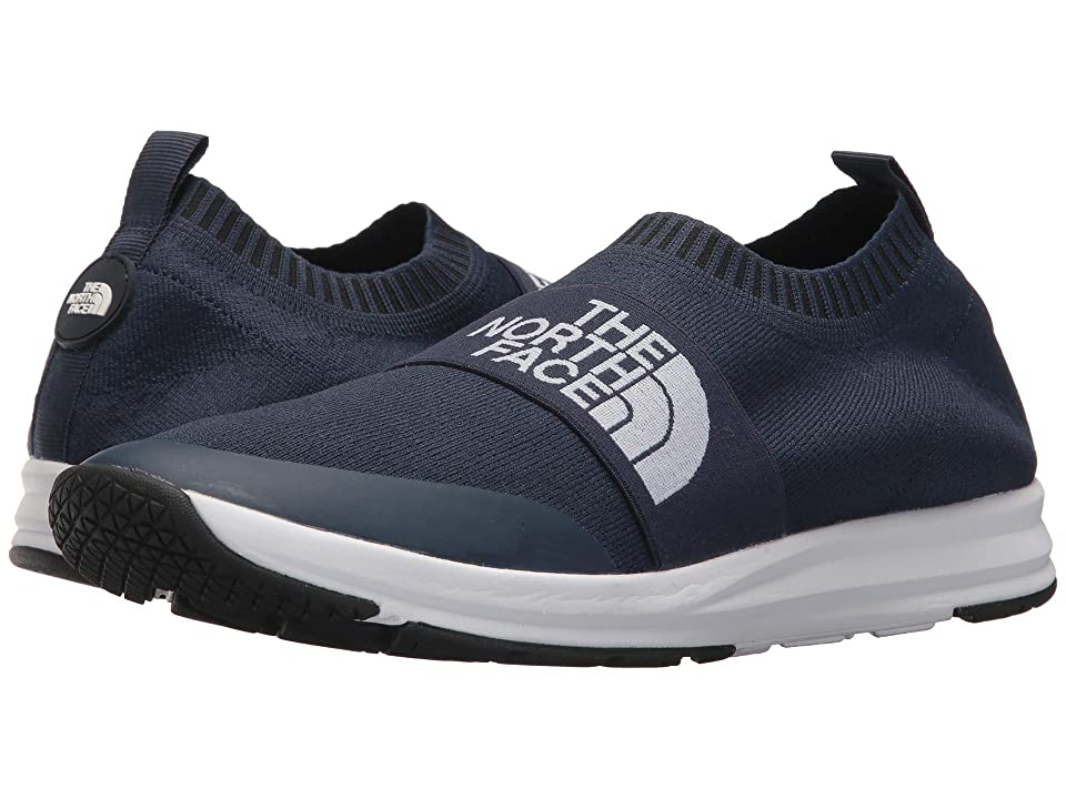 The North Face NSE Traction Knit Moc (Urban Navy/TNF White) Men's Shoes, Black
