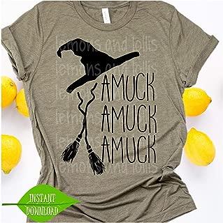 Amuck Amuck Amuck svg, Halloween svg, Sanderson Sisters svg, Halloween, Hocus Pocus T-Shirt, Hocus Pocus movie, Halloween t-shirt cut file