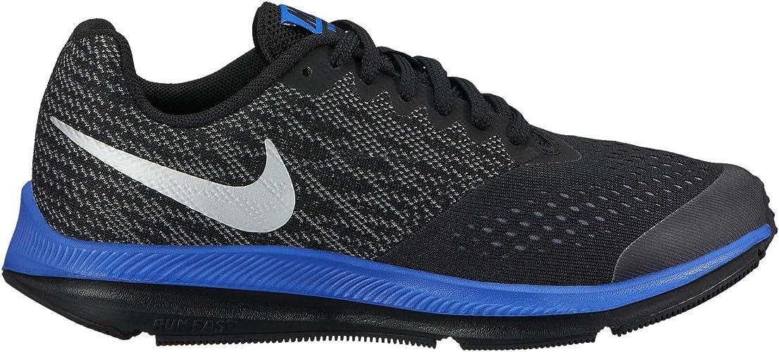 Nike Zoom, Chaussures de Running mixte enfant - Noir - noir, 36.5 ...