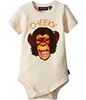 Rock Your Baby - Cheeky Monkey Short Sleeve Bodysuit (Infant)