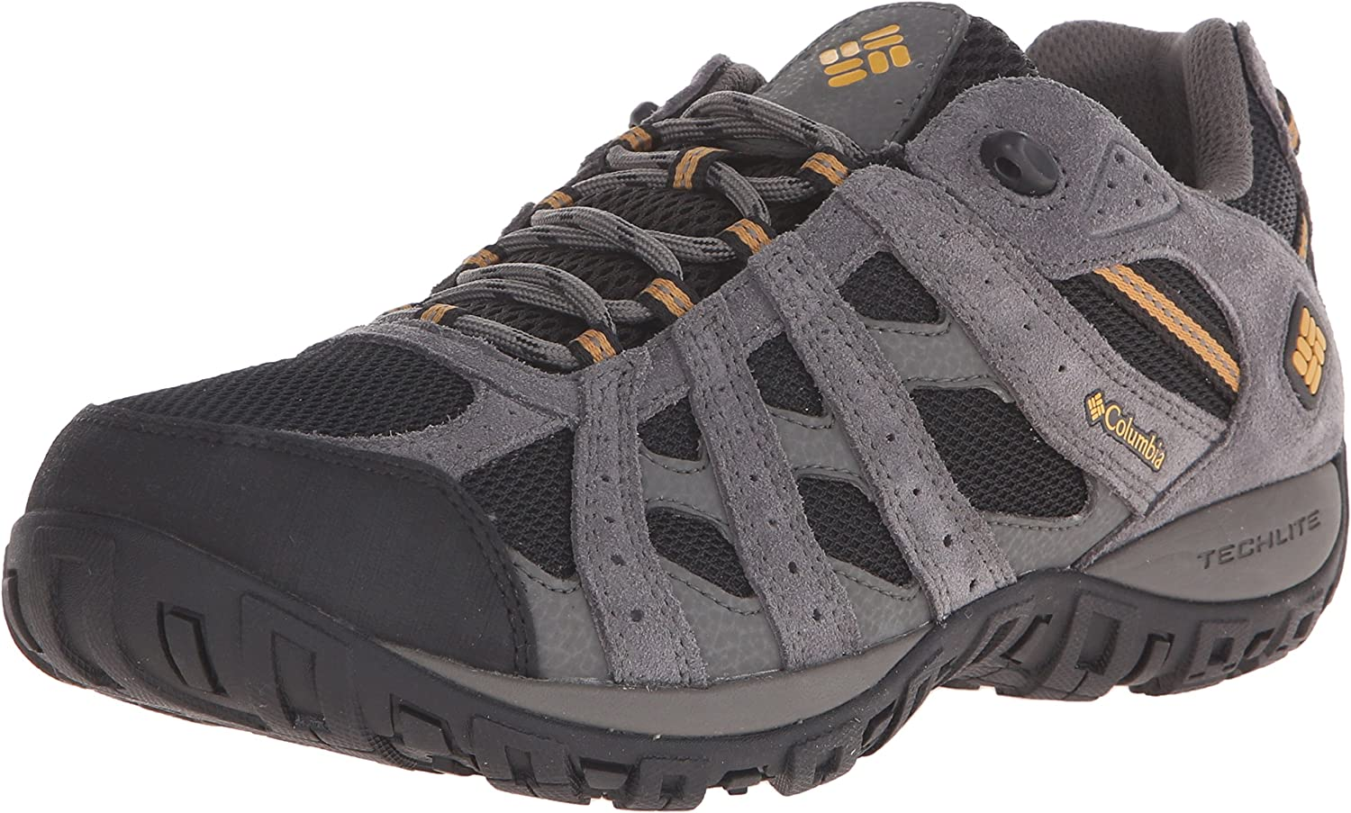 Columbia Men's rotmond Waterproof Wide Hiking schuhe, schwarz, Squash, 8.5 2E US