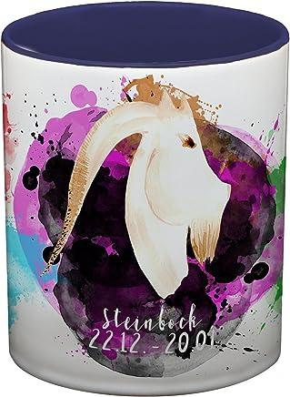 Preisvergleich für Ma2ca® Sternzeichen Steinbock Kaffeetasse Becher Tasse Tasse Becher-innen_kobaltblau