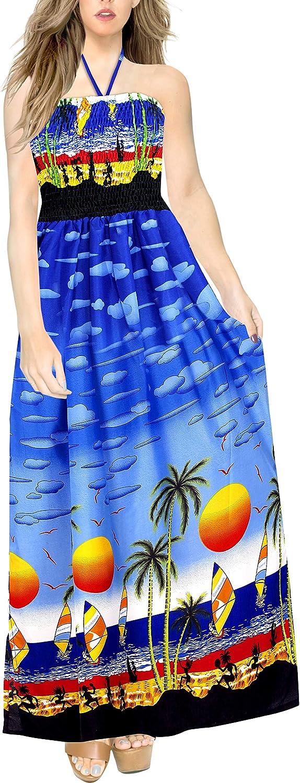 LA Weekly update LEELA Women's trust Plus Size Tube Summer Dress Girls for Sun
