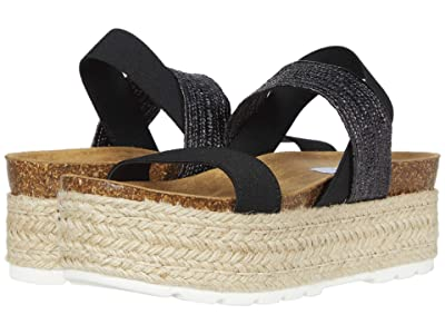 Steve Madden Circa Wedge Sandal (Black Multi) Women