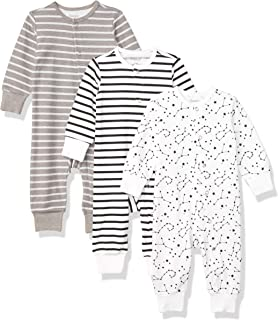 Hanes Ultimate Baby Flexy 3 Pack Sleep and Play Suits