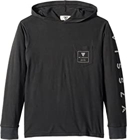 Car Park Long Sleeve Hooded T-Shirt (Big Kids)